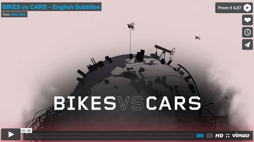 bikes and cars